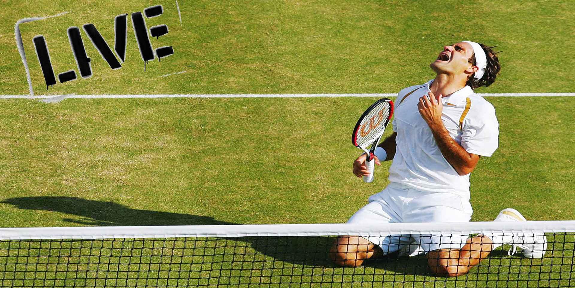 2017 Wimbledon Mens Singles Round 1 Live